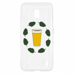 Etui na Nokia 2.2 Beer and cannabis