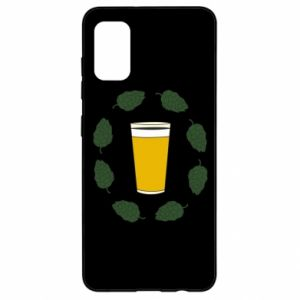Etui na Samsung A41 Beer and cannabis