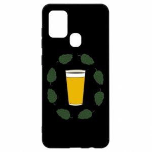 Etui na Samsung A21s Beer and cannabis