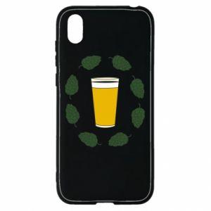 Etui na Huawei Y5 2019 Beer and cannabis