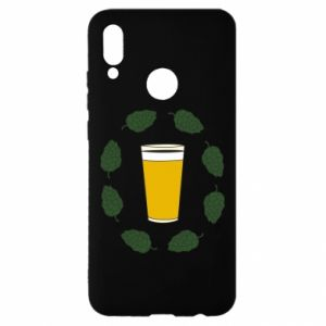 Etui na Huawei P Smart 2019 Beer and cannabis
