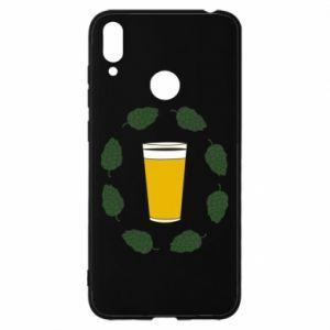 Etui na Huawei Y7 2019 Beer and cannabis