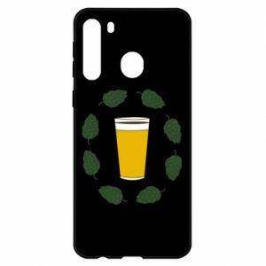 Etui na Samsung A21 Beer and cannabis