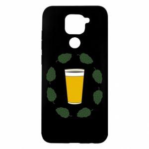Etui na Xiaomi Redmi Note 9/Redmi 10X Beer and cannabis