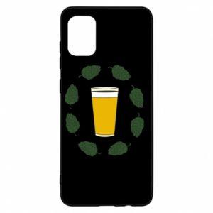 Etui na Samsung A31 Beer and cannabis