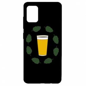 Etui na Samsung A51 Beer and cannabis