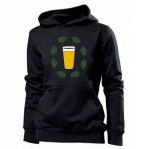 Bluza damska Beer and cannabis
