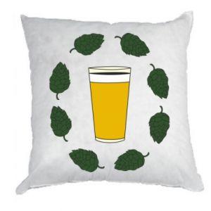 Poduszka Beer and cannabis