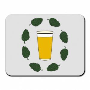 Podkładka pod mysz Beer and cannabis