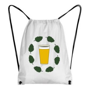 Plecak-worek Beer and cannabis