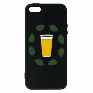 Etui na iPhone 5/5S/SE Beer and cannabis