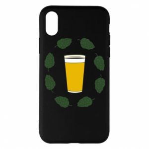 Etui na iPhone X/Xs Beer and cannabis