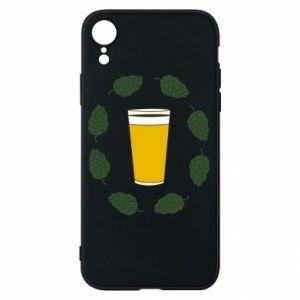 Etui na iPhone XR Beer and cannabis