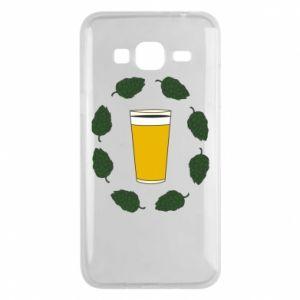 Etui na Samsung J3 2016 Beer and cannabis