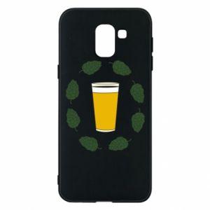 Etui na Samsung J6 Beer and cannabis