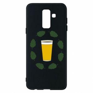 Etui na Samsung A6+ 2018 Beer and cannabis