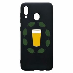 Etui na Samsung A20 Beer and cannabis
