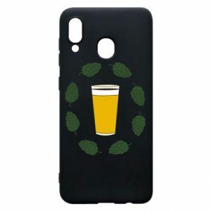Etui na Samsung A30 Beer and cannabis