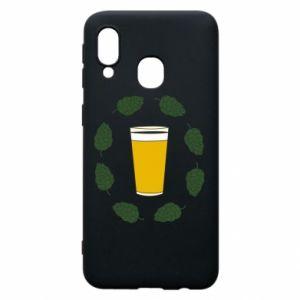 Etui na Samsung A40 Beer and cannabis