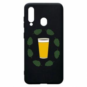 Etui na Samsung A60 Beer and cannabis