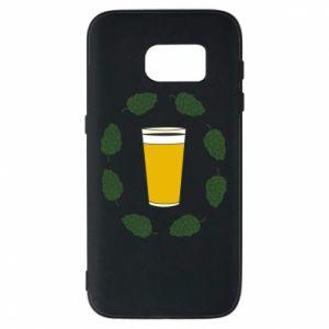 Etui na Samsung S7 Beer and cannabis