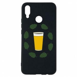 Etui na Huawei P Smart Plus Beer and cannabis