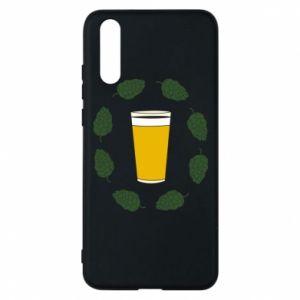 Etui na Huawei P20 Beer and cannabis