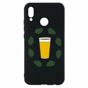 Etui na Huawei P20 Lite Beer and cannabis