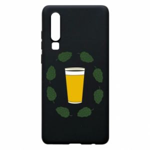 Etui na Huawei P30 Beer and cannabis