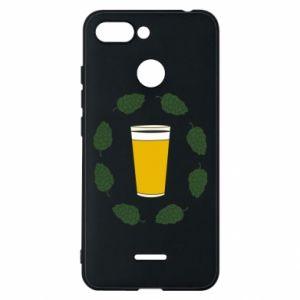 Etui na Xiaomi Redmi 6 Beer and cannabis