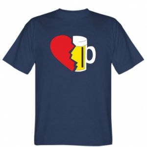T-shirt Beer broke the heart