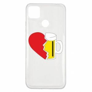 Xiaomi Redmi 9c Case Beer broke the heart