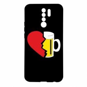 Etui na Xiaomi Redmi 9 Beer broke the heart