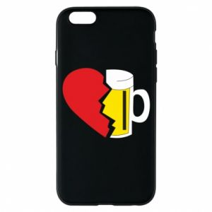 Phone case for iPhone 6/6S Beer broke the heart
