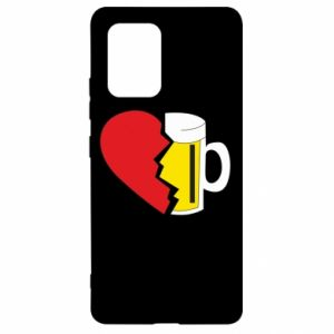 Etui na Samsung S10 Lite Beer broke the heart