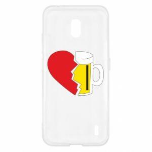 Etui na Nokia 2.2 Beer broke the heart