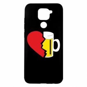 Etui na Xiaomi Redmi Note 9/Redmi 10X Beer broke the heart