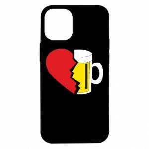 Etui na iPhone 12 Mini Beer broke the heart