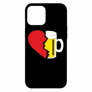 Etui na iPhone 12 Pro Max Beer broke the heart