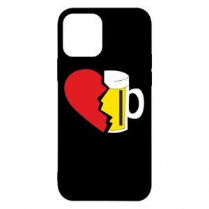 Etui na iPhone 12/12 Pro Beer broke the heart