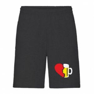 Men's shorts Beer broke the heart