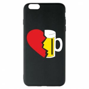 Phone case for iPhone 6 Plus/6S Plus Beer broke the heart