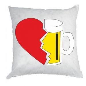 Pillow Beer broke the heart