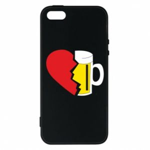 Phone case for iPhone 5/5S/SE Beer broke the heart