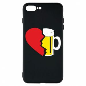 Phone case for iPhone 7 Plus Beer broke the heart