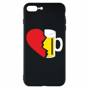 Phone case for iPhone 8 Plus Beer broke the heart