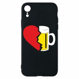 Phone case for iPhone XR Beer broke the heart