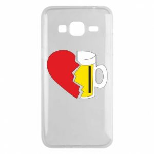 Phone case for Samsung J3 2016 Beer broke the heart