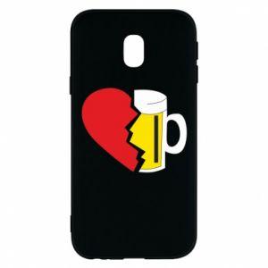 Phone case for Samsung J3 2017 Beer broke the heart