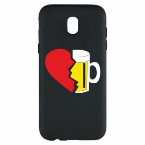 Phone case for Samsung J5 2017 Beer broke the heart